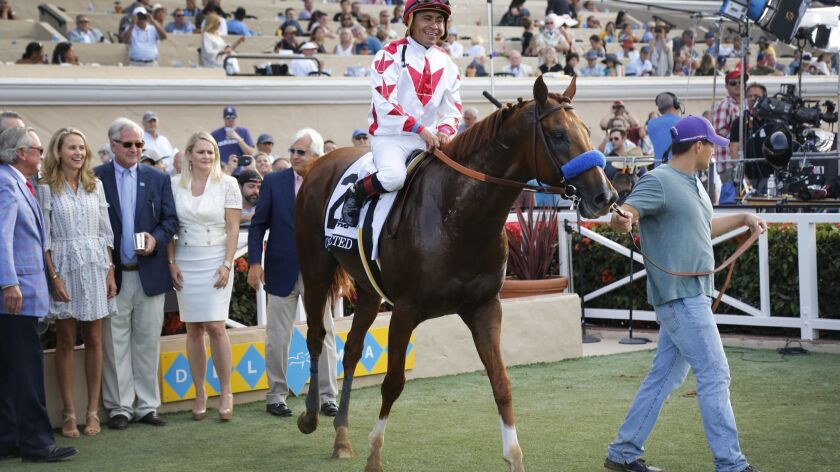 """DEL MAR, CA: AUGUST 19, 2017 