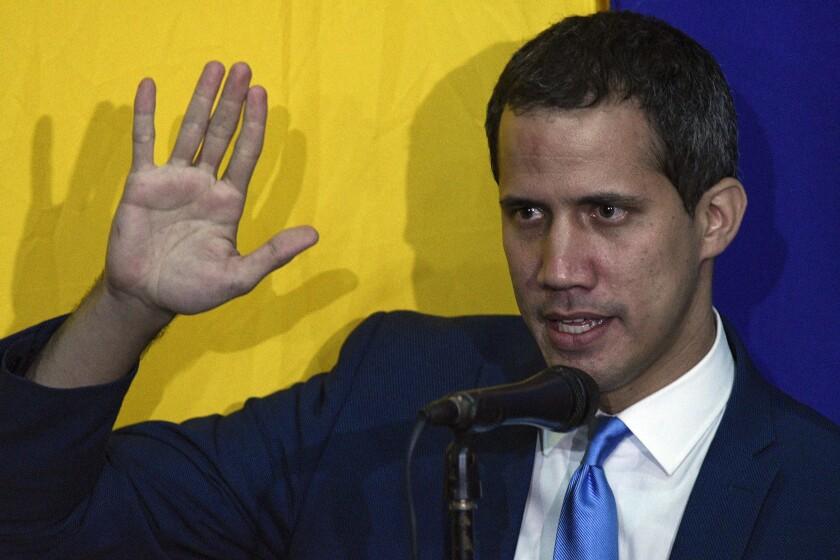 APTOPIX Venezuela Guaidos Future