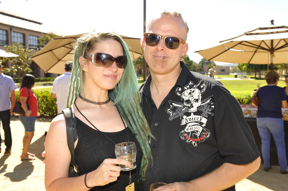 Beer and cheese lovers united at the Stone Craft Beer & Cheese: The Ultimate Pairing festival at Stone Brewing World Bistro & Gardens, Liberty Station on Sunday, Oct. 22, 2017.