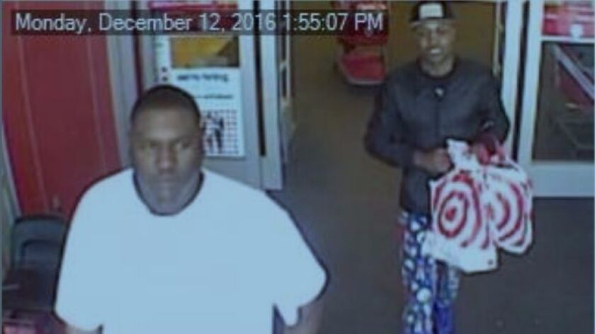 Sheriff's theft suspects