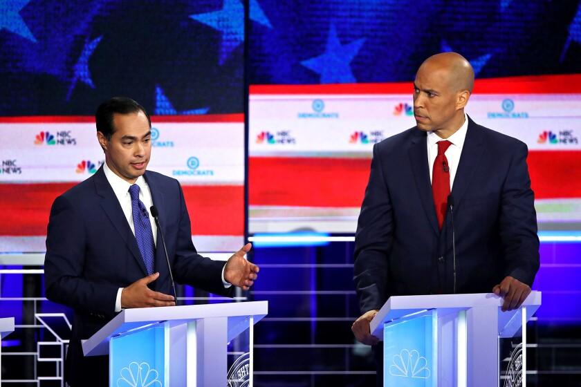 Castro and Booker