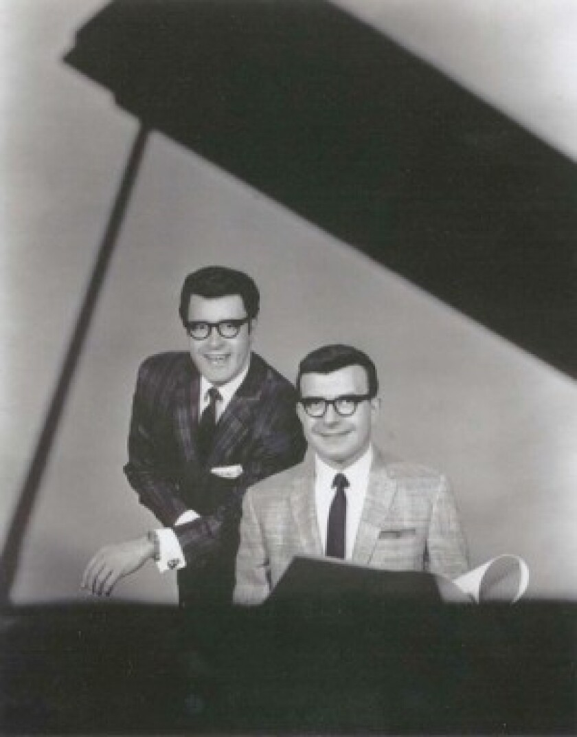 Over the course of their 40-year partnership, Arthur Ferrante, left, and Lou Teicher recorded 150 albums, racking up 22 gold and platinum records and selling 90 million records worldwide, and performed 5,200 concerts before retiring in 1989.