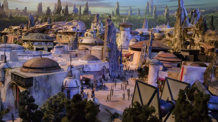 Star Wars: Galaxy's Edge is set to open May 31 at Disneyland.