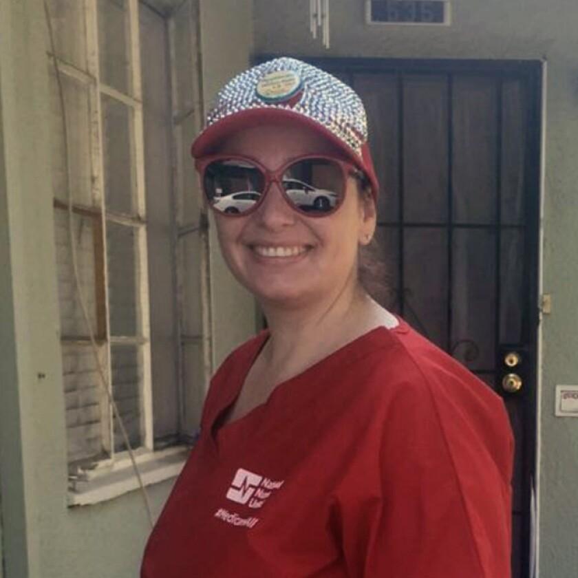 Registered nurse Amy Arlund