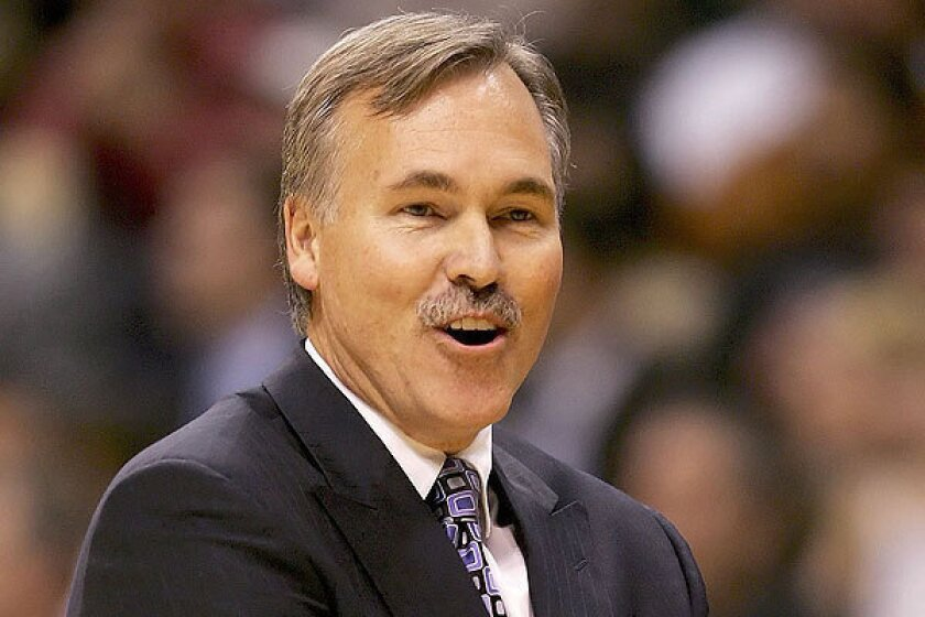 Mike D'Antoni won NBA coach of the year in his first full season as head coach of the Phoenix Suns.