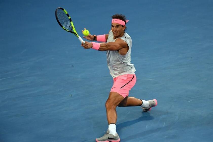 Imagen de archivo del tenista español Rafael Nadal. EFE/Archivo