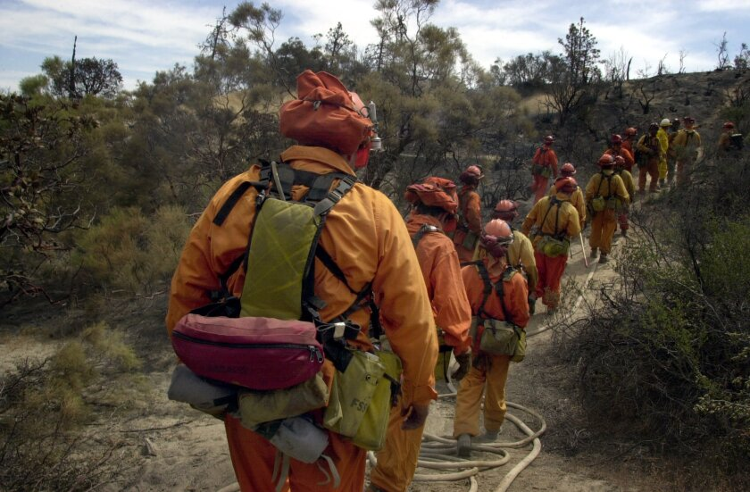 For decades inmate fire crews have helped battle wildland fires in the county