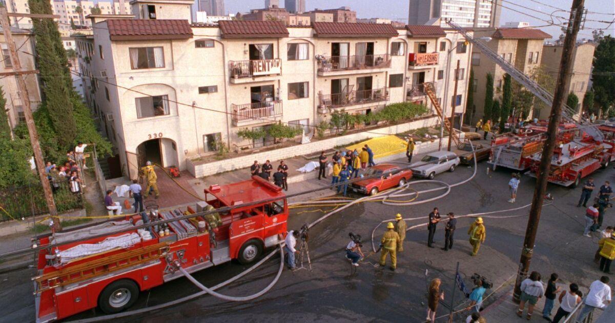 18th Street gang κράτος παίρνει λόγος 1993 Westlake διαμέρισμα εμπρησμός αριστερά 10 νεκροί