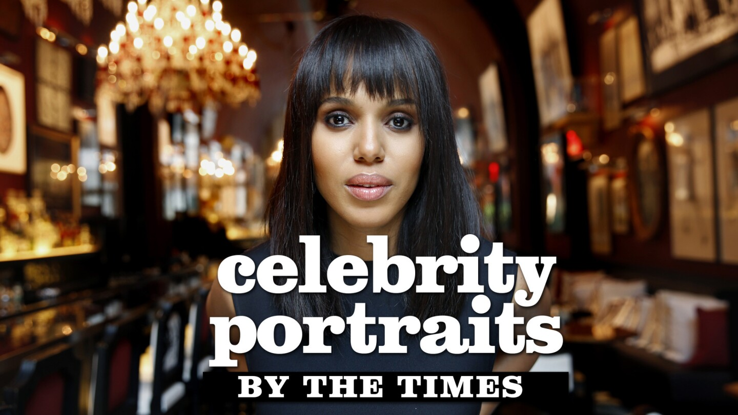 Celebrity portraits by The Times