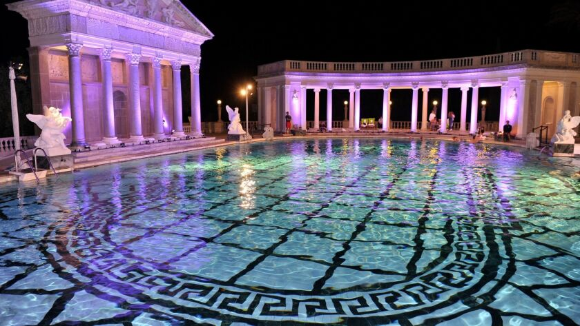 You can swim in Hearst Castle\'s famous pools. It\'ll only ...