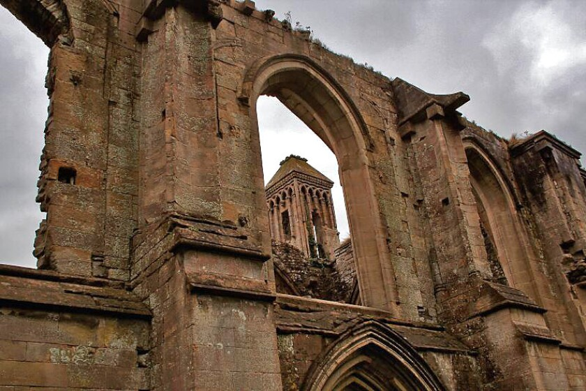 The Abbey Retreat, on the grounds of the 7th century Glastonbury Abbey, above, will be home to introverts on tour.