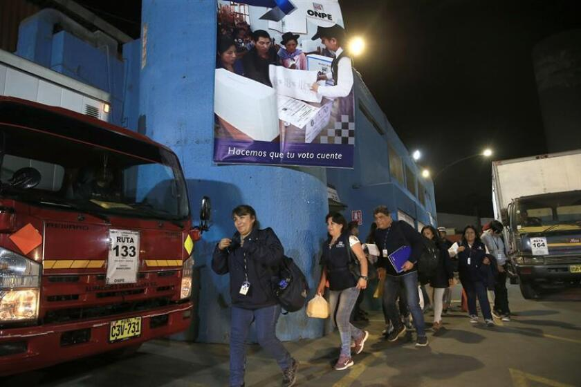Peruvians set to vote in referendum on judicial, political overhauls