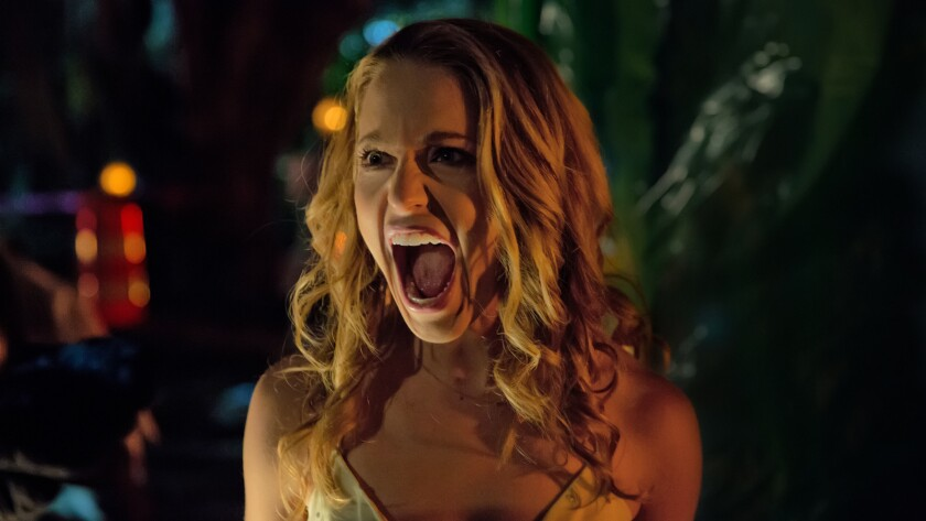 """Jessica Rothe in the movie """"Happy Death Day."""""""