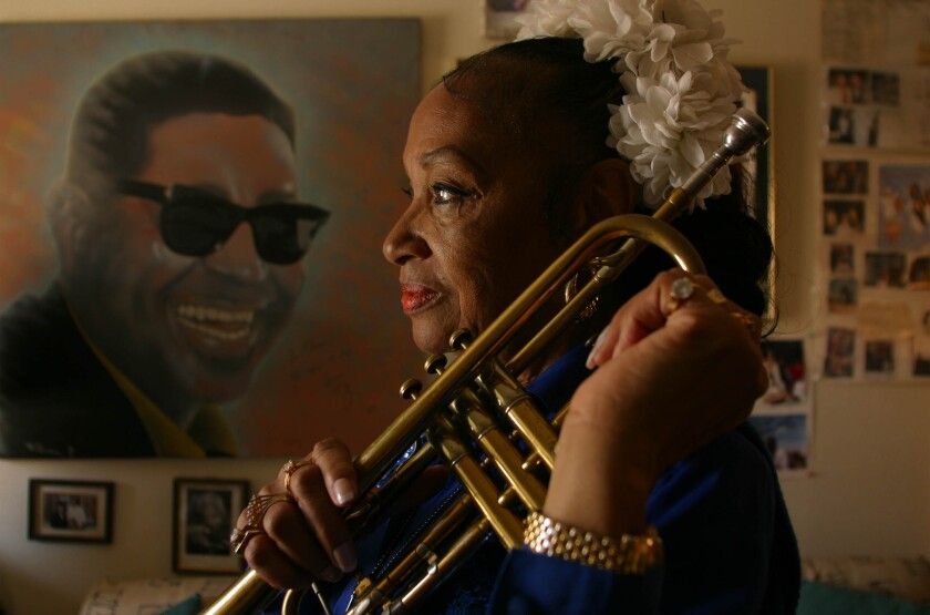 Clora Bryant, who broke barriers as a jazz trumpet player, dies at 92