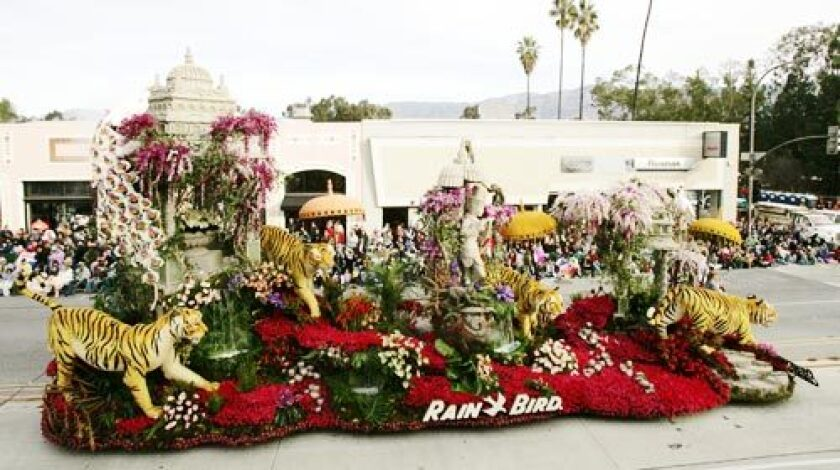 Rose Parade: Sweepstakes Winner