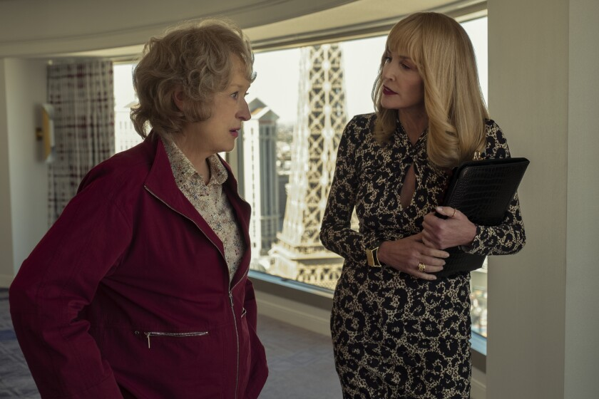 Meryl Streep and Sharon Stone in 'The Laundromat'
