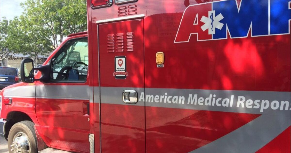 Mira Mesa collision sends one to hospital with serious leg injury