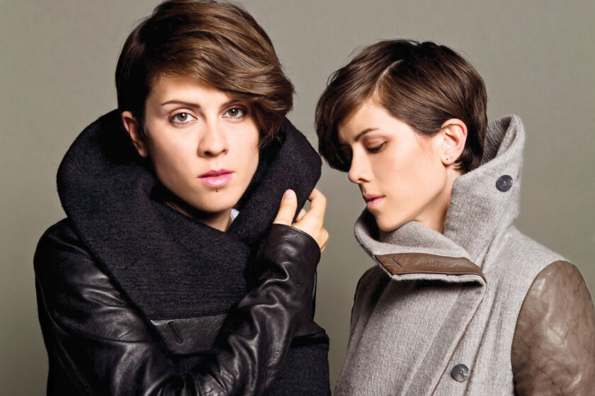 A photo of Tegan and Sara