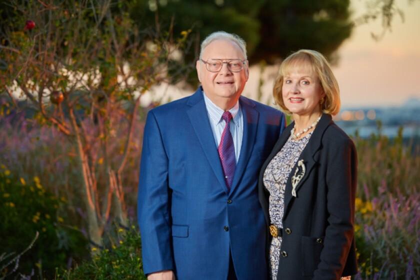Julie and Jay Sarno