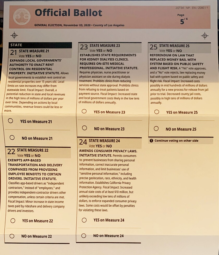 """About 2,100 residents in Woodland Hills received """"faulty ballots."""""""
