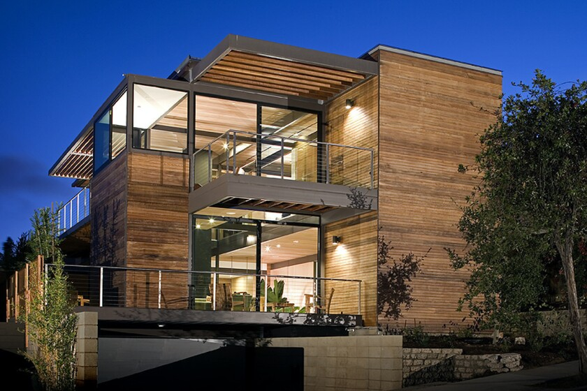 Living Homes in Santa Monica built the first house in the U.S. to be certified LEED platinum.
