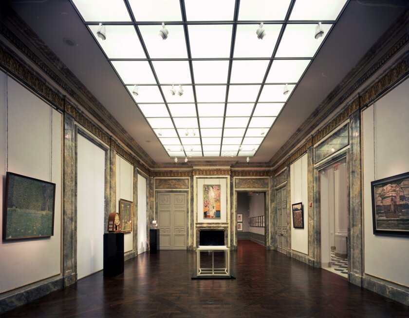 Selldorf Architects transformed this 1914 building into the Neue Galerie New York: Museum for German and Austrian Art. Of foremost importance in the design was balancing historic restoration with complex structural and mechanical modifications. Todd Eberle
