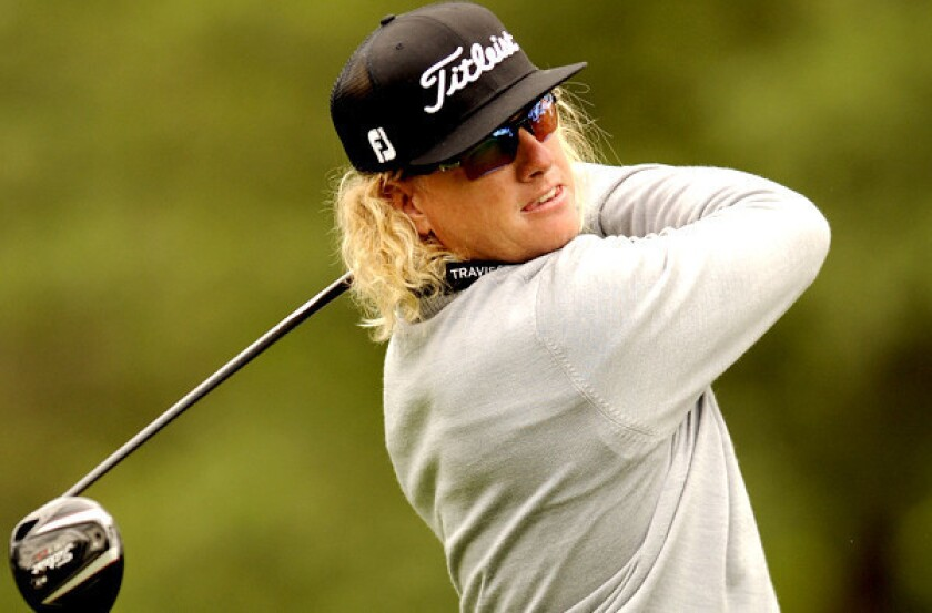 Charley Hoffman takes two-stroke lead at RBC Heritage