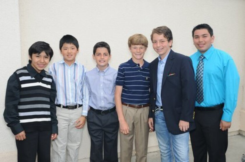 Sixth grade graduates