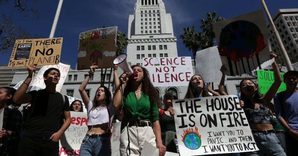 What's behind the youth movement to tackle climate change? Fear — but also hope