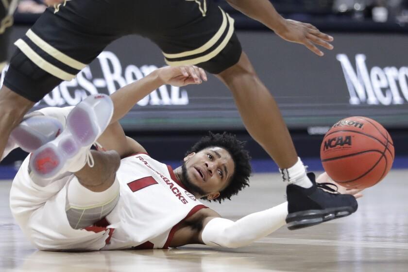 SEC Vanderbilt Arkansas Basketball