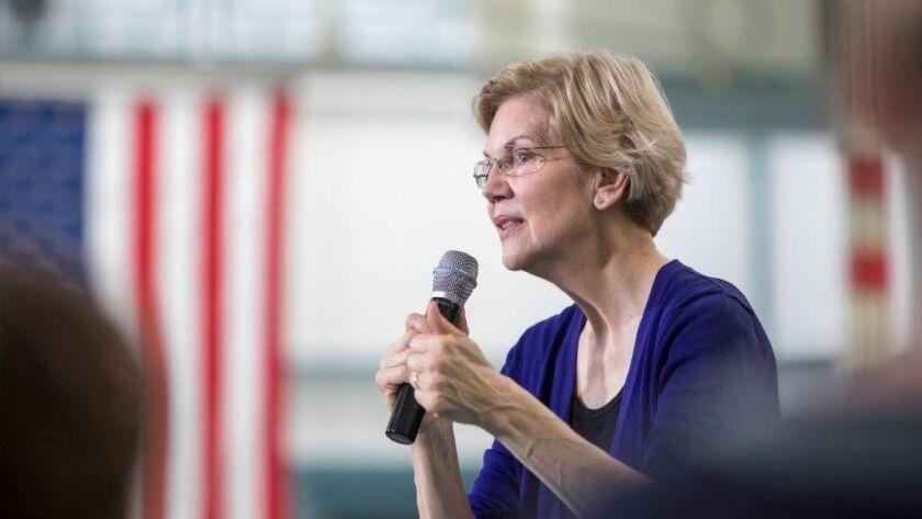 Presidential candidates Elizabeth Warren, Jay Inslee campaign in pivotal Michigan
