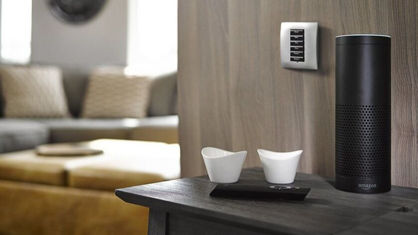 Voice control continues to trend in smart home features. Photo courtesy of Control4
