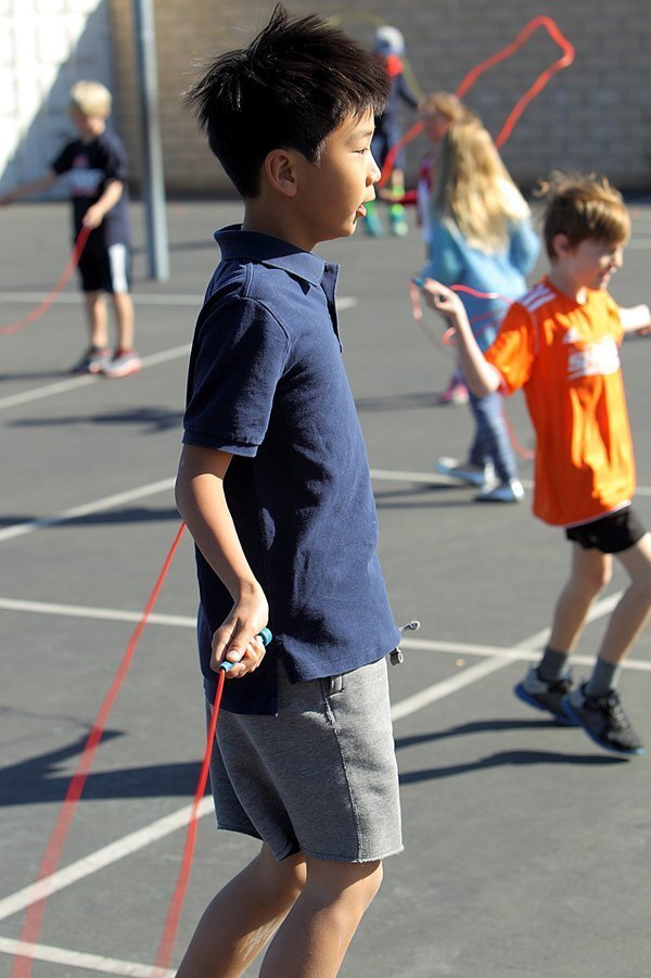 Jump Rope for Heart at Del Mar Hills Academy