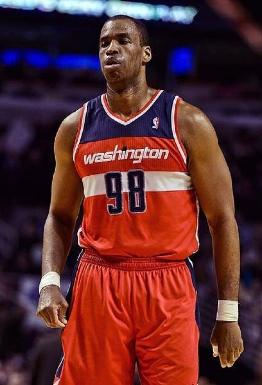 Jason Collins has played for six NBA teams. This season, he played for the Boston Celtics and then the Washington Wizards.