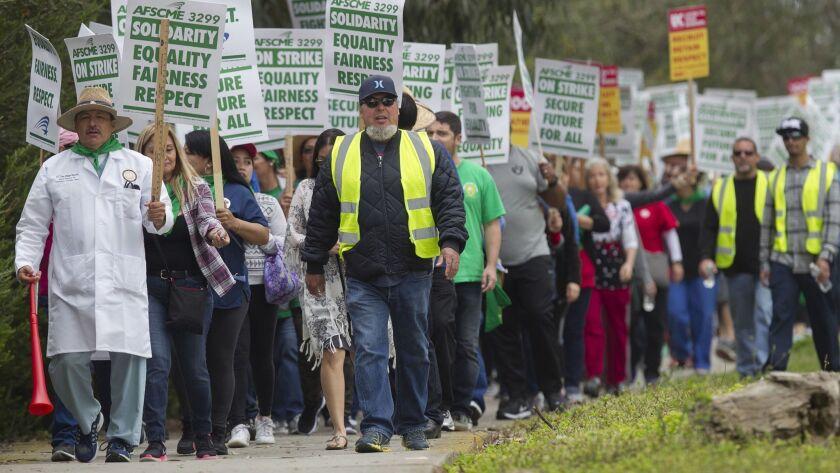 UCSD strike day2