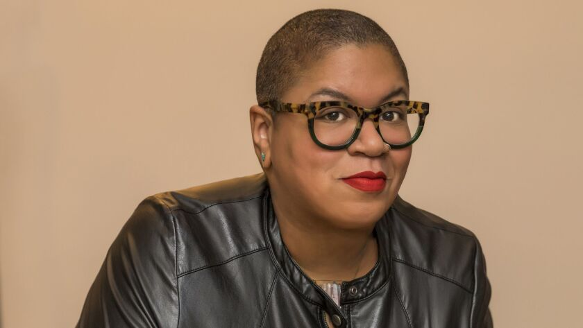 """An author photo of Samantha Irby for her book """"We Are Never Meeting in Real Life."""" Credit: Eva Blue"""