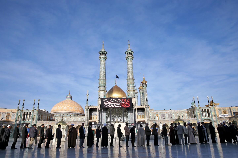 Elections underway in Iran