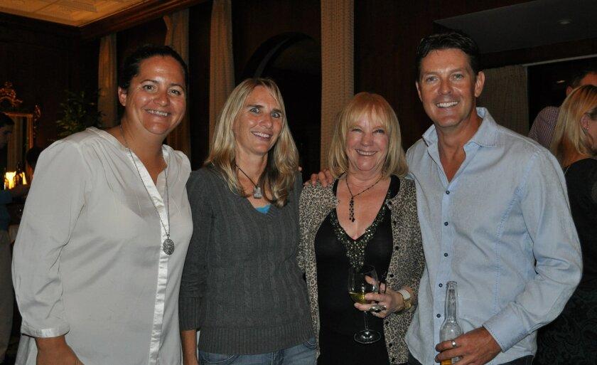 Kristin Jones, Kelly McDonald, Cathy Callier and Corey Harvey