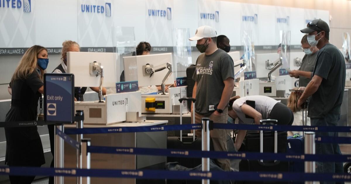 www.sandiegouniontribune.com: United posts 3 million 3Q profit on federal pandemic aid