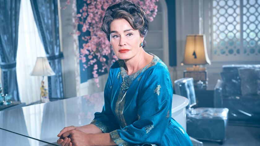"Jessica Lange in ""Feud: Bette & Joan."""