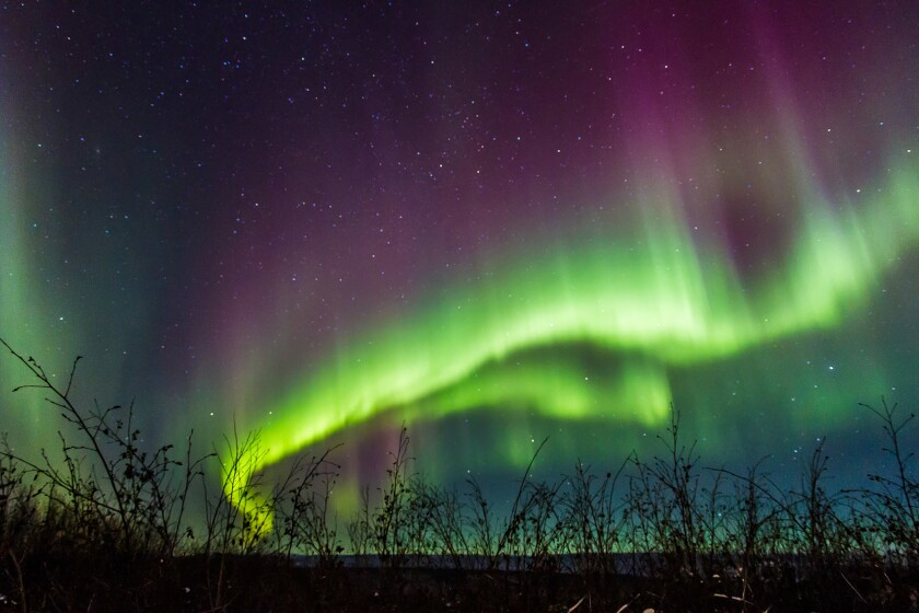 A six-night Fairbanks tour gives participants a chance to photograph the Northern Lights.