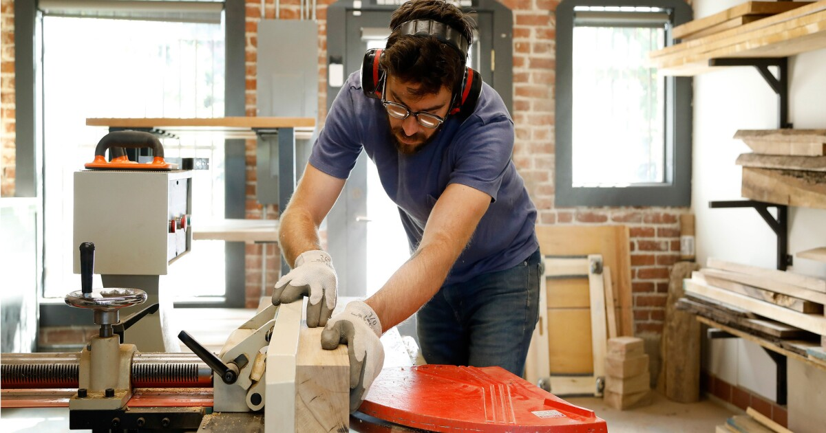 Makers: After two years spent working in his garage, a woodworker distinguishes himself