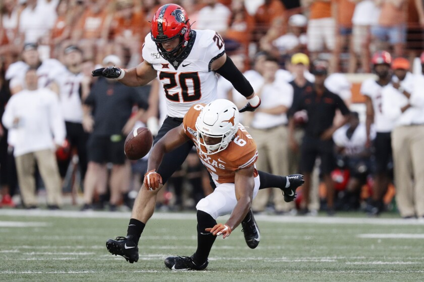 Oklahoma St Texas Football