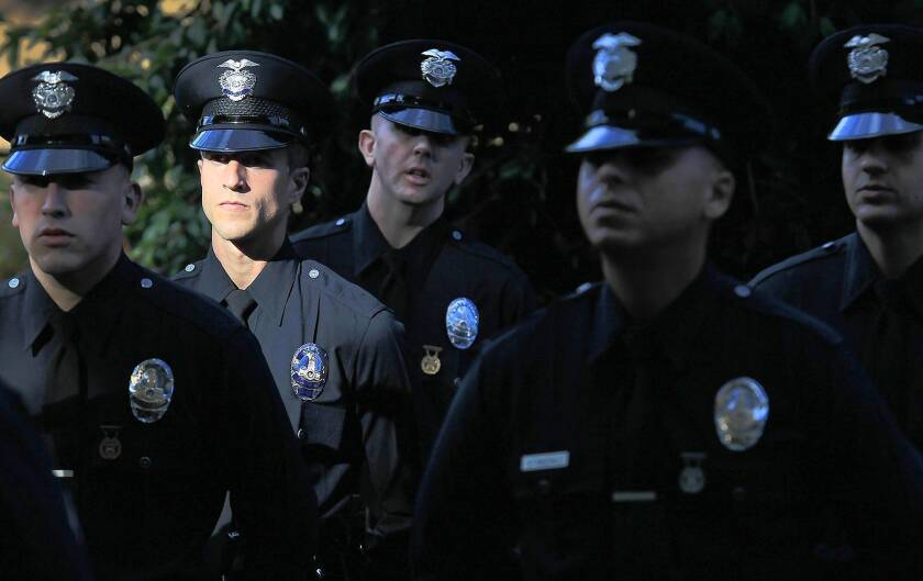 With fewer qualified recruits, LAPD sees decline in ranks