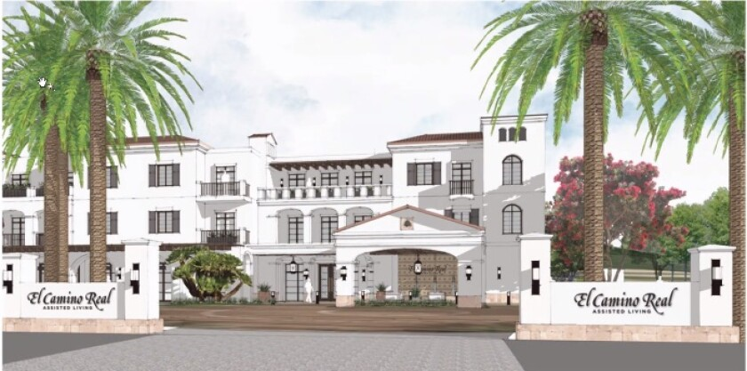 A rendering for El Camino Real Assisted Living.