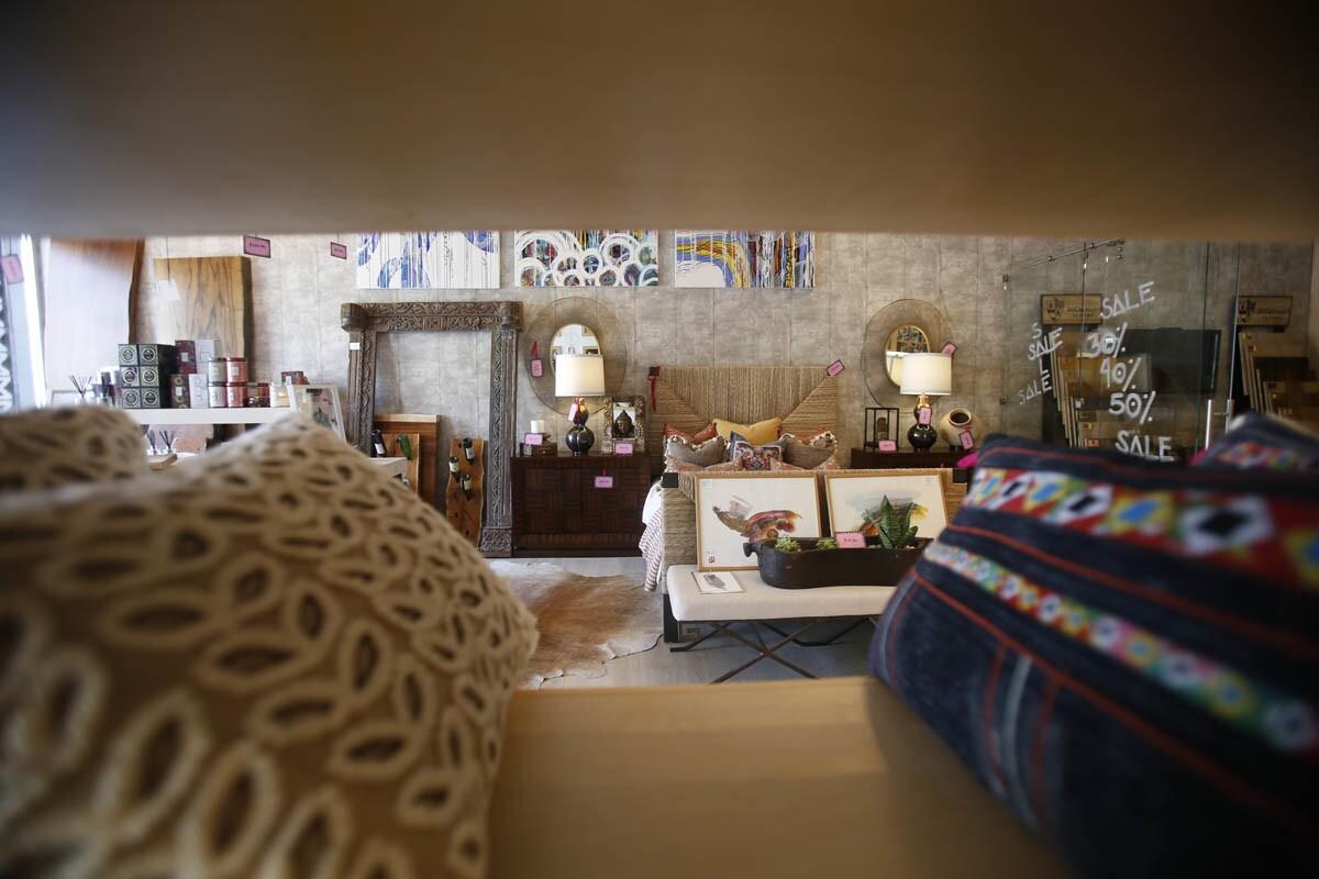 Tijuana, Baja California, Mexico April 11th, 2017: | Casa Duhagon is full-service decor and design temple located in Av. Revolucion in downtown Tijuana. Pillows and decor. | Alejandro Tamayo © The San Diego Union Tribune 2017