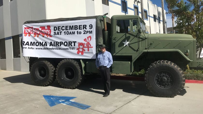 Delkin Devices will be collecting Toys for Tots on Dec. 9.