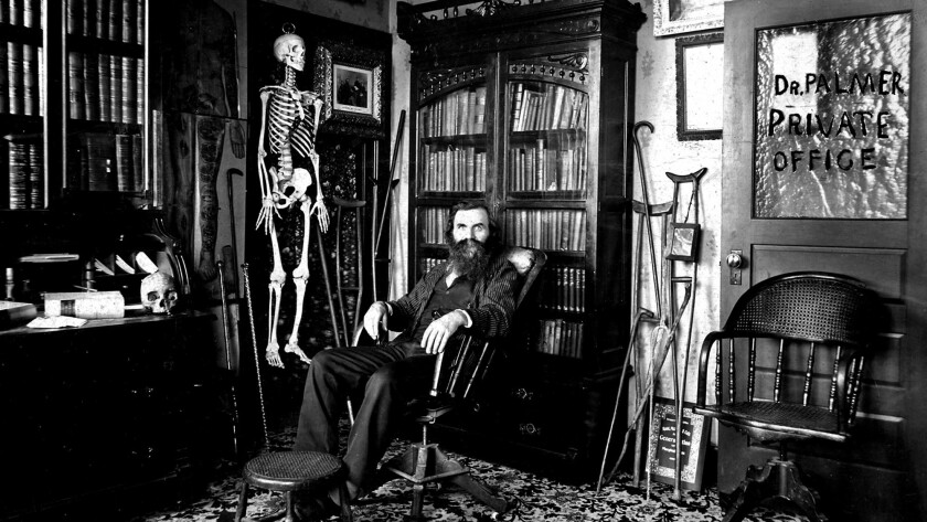 D.D. Palmer, who performed the first chiropractic adjustment in 1895, credited the ghost of a long-dead doctor with introducing him to the healing practice.