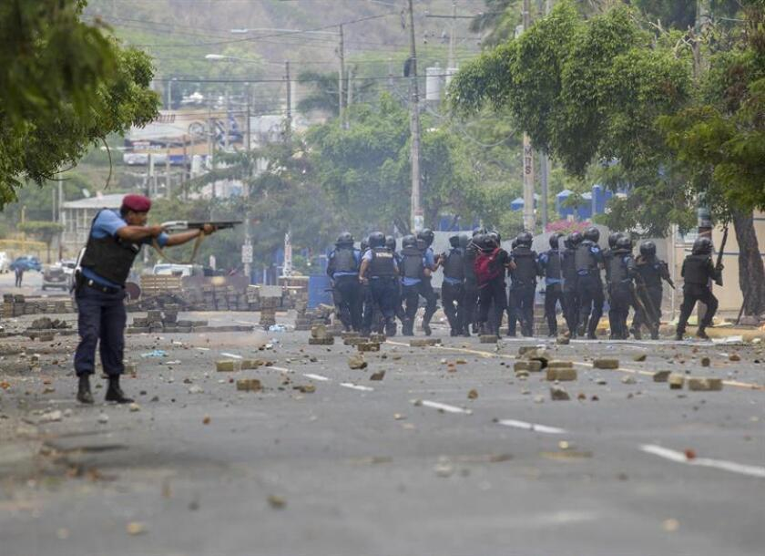 El secretario general de la Organización de Estados Americanos (OEA), Luis Almagro, condenó hoy los recientes sucesos vividos en Nicaragua, en los que tres personas han sido asesinadas en las últimas horas. EFE/ARCHIVO