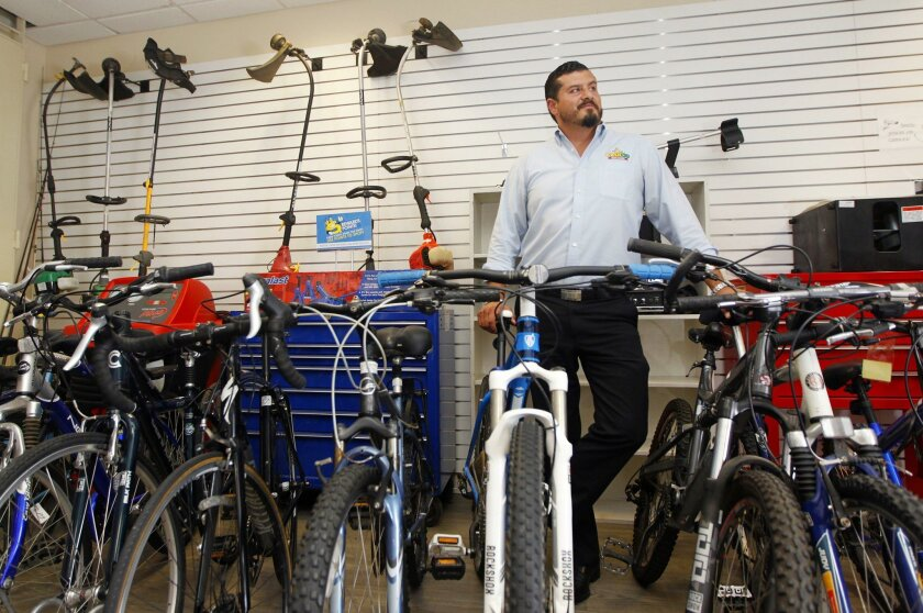 """Moris Adato is the owner of CashCo Pawn. """"We're the bank for the unbanked,"""" he says."""